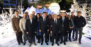 Lancement de la saison de ski en direct de la Place Masséna à Nice