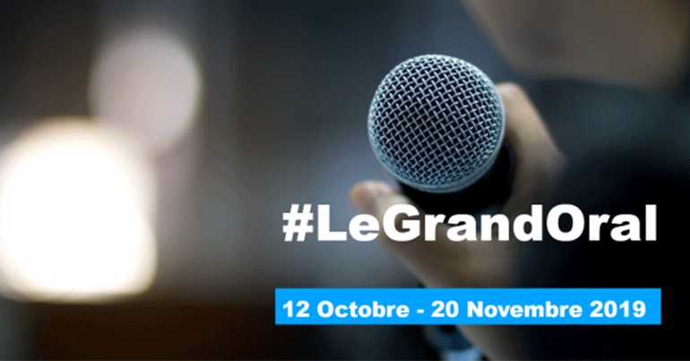 « Grand Oral », concours d'éloquence