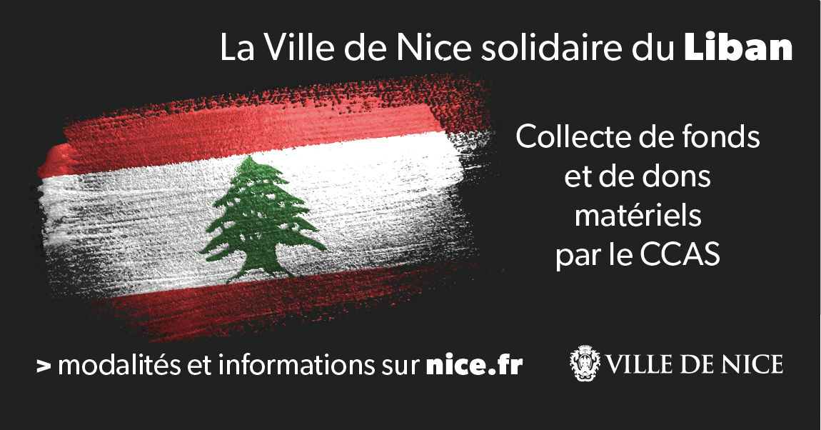 Nice solidaire avec Beyrouth