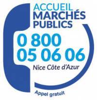 accueil marchés publics : 0 800 05 06 06