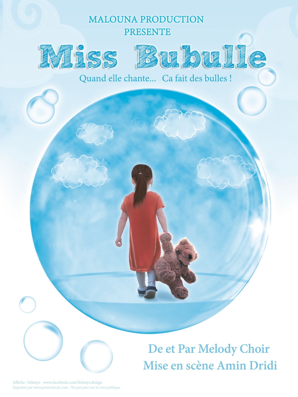 affiche miss bubulle
