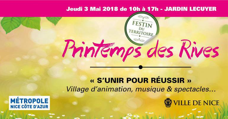 Printemps des Rives 2018