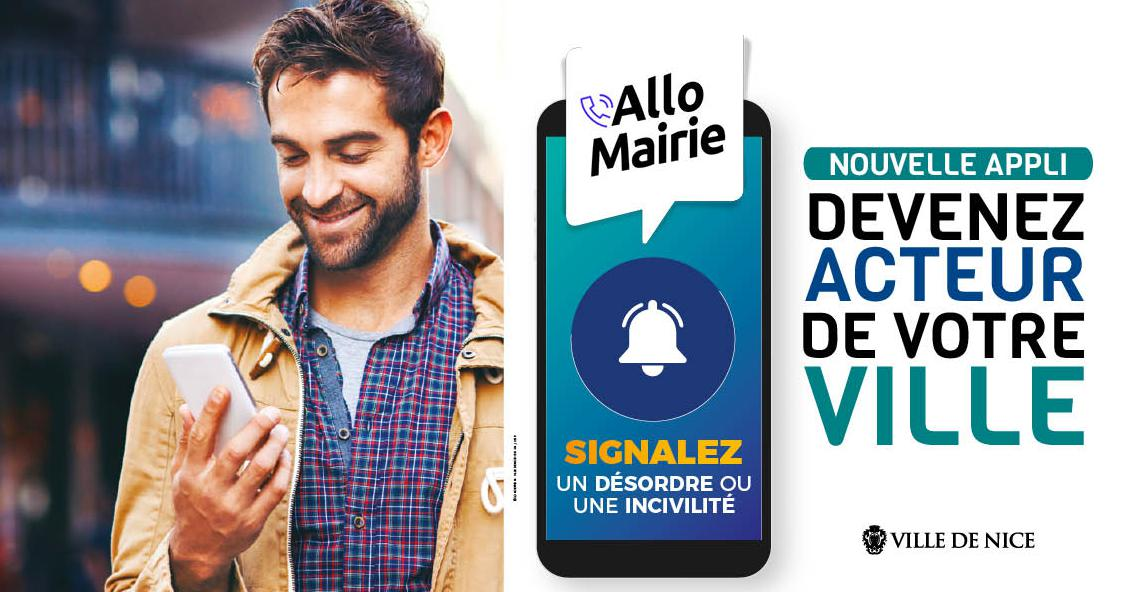 La Ville de Nice lance l'application smartphone « Allo Mairie »