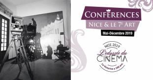 conférences - Nice et le 7ème art - mai à décembre 2019