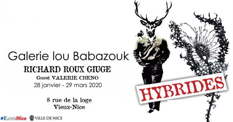 Exposition Hybrides à la Galerie Lou Babazouk