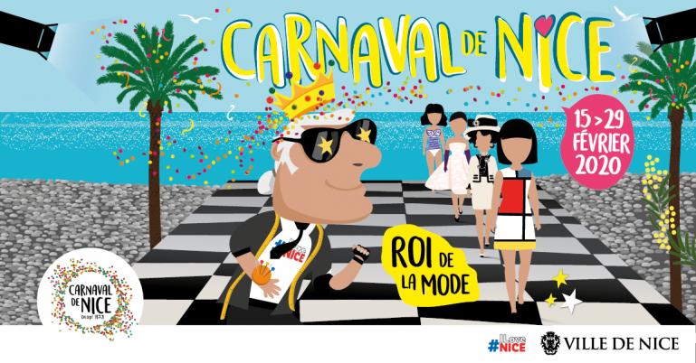 carnaval de nice du 15 au 29  février 2020 - Roi de la mode