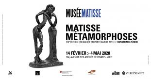 Exposition Matisse Métamorphoses du 14 février au 4 mai 2020 au Musée Matisse de Nice