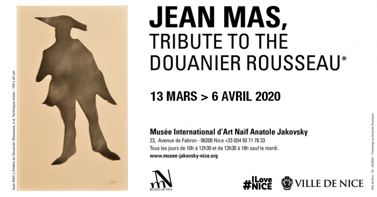 Jean Mas, tribute to the Douanier Rousseau