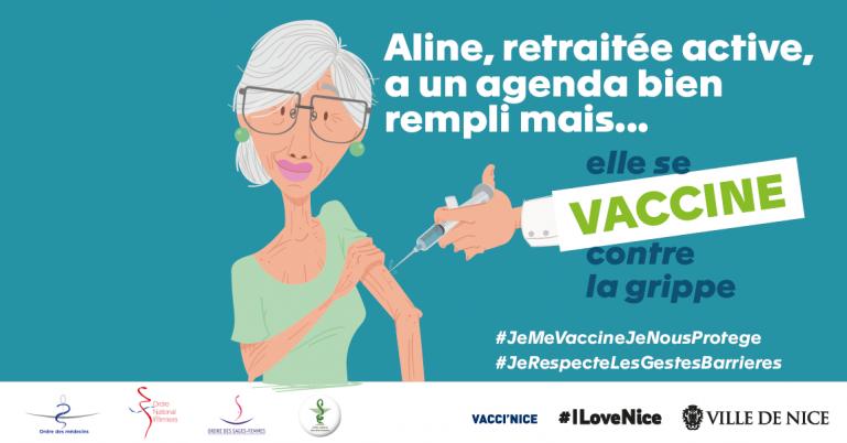 Campagne de vaccination grippe saisonnière 2020 2021